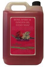 ROSE & GINGER Liquid Hand Wash Soap 5 Litre Gallon bulk fill for dispensers