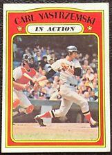 1972 Topps Carl Yastrzemski In Action #38