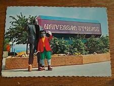 Vtg 1976 UNIVERSAL CITY STUDIOS California USA Postcard FRANKENSTEINS MONSTER