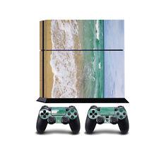 Ocean Waves PS4 PlayStation 4 Vinyl Wrap / PlayStation 4 PS4 Skin Sticker Cov...