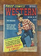 WESTERN COMIC No.3 * GOLDEN AGE * JUL-AUG 1950 10c PRIZE COMICS * the PREACHER
