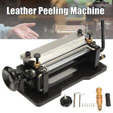 """6"""" inch Leather Skiver Splitter Peeler Shovel Skiving Paring Peeling DIY Machine"""