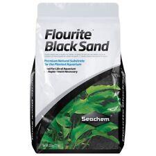 SEACHEM FLOURITE BLACK SAND 7 KG SUBSTRATO NATURALE PER LA PIANTATO ACQUARIO