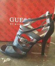 Guess Black Strappy Heels Size 7. 5