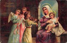 BG20338 children  angel playing violin baby jesus weihnachten christmas  germany