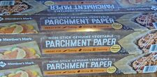 MEMBER'S MARK( 2 X 205 Sq Ft) Genuine Vegetable Parchment Paper Fast Shipping.