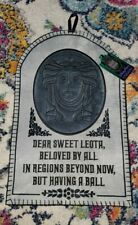 New Disney Parks Haunted Mansion Madame Leota Tombstone Holiday Stocking Nwt