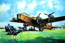 "HQ Oil Painting ""WW2Plane-23"" 24""X36"""