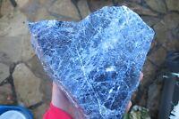 Sodalite Crystal Specimen Natural Healing raw Rough Large piece Chunk 2.2 K