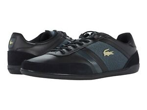 Men's Shoes Lacoste GIRON 0721 1 Lace Up Sneakers 41CMA0050237 BLACK / DARK GREY