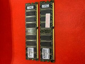 2x Kingston KTA-G4266/512 512MB PC2100 Module for Apple PowerMac Computer