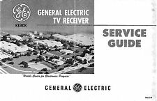 General Electric TV Receiver Service Guide * PDF * CDROM