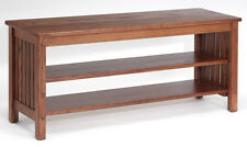 #4551 Solid Oak Mission  TV Stand