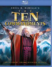 The Ten Commandments (Blu-ray Disc, 2013, 2-Disc Set) - NEW!!