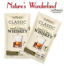 Classic SINGLE MALT WHISKEY - 2x51g sachets = makes 2.25L -Still Spirits ESSENCE