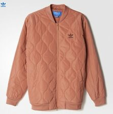 ADIDAS FALLEN FUTURE QUILTED BOMBER JACKET RAWPIN BR1813 SIZE M