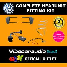 VW Beetle 1998-2012 Car Stereo Fascia Fitting Kit Stalk Aerial Keys CTKVW02