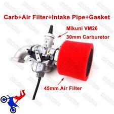 VM26 30mm Mikuni Carburetor Air Filter Intake For 140 150cc 160cc Pit Dirt Bike