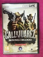 Call Of Juarez Bound IN Blood Jeu De PC DVD ROM Codegame UBISOFT Espagnol Am