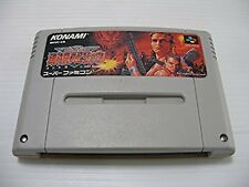 Super Famicom Contra Spirits Japan SFC SNES
