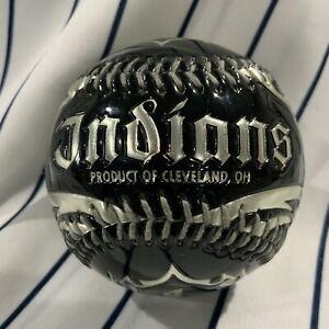 Cleveland Indians Biker Style Rawlings 2007 Promotional Souvenir baseball Ball