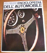 Sergio Pininfarina ENCICLOPEDIA DELL'AUTOMOBILE 1967 n° 28 VOLANTE AUTO SPORTIVA