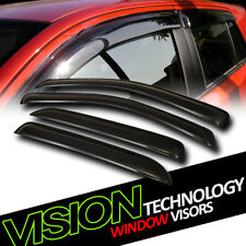 Rain/Wind Guard Vent Shade Deflector Window Visor For 05+ Freestyle/08+ Taurus X