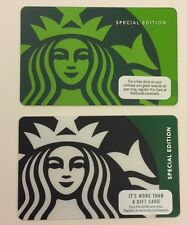 Starbucks Gift Card Special Edition RARE 40th Anniversary plus extra • No Value