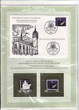 enveloppe timbre neuf et argent association receveurs de la poste  Allemagne 80