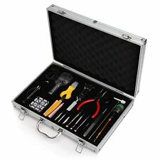 Watch Repair Kit Professional Deluxe Tool Set Watchmaker With Case Best Readaeer