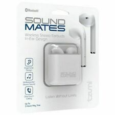 Tzumi Sound Mates Bluetooth Wireless Earbuds Headphones Earpods Charging Case