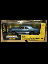 1970 Cutlass SX Astro Blue Oldsmobile 1:18 Ertl American Muscle 33774