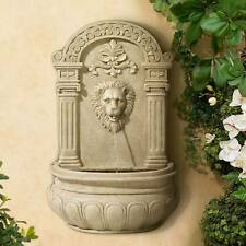 Lion Wall Mounted Fountain Outdoor Fountains For Sale In Stock Ebay