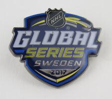 2017 SAP NHL Global Series Logo Hockey Pin Colorado Avalanche vs Ottawa Senators