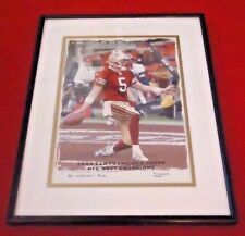 Jeff Garcia San Francisco 49ers Limited Edition Framed Terrell Lloyd Picture Art