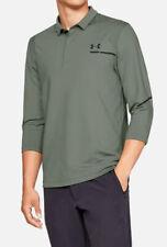 $110 Under Armour 2XL XXL Perpetual Utility 3/4 Sleeve Golf Polo Green 1317336