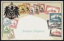 Deutsch Sudwest Afrika German Southwest Africa Zieher Embossed Stamp Postcard