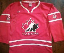 Nike team Canada hockey  jersey youth L XL