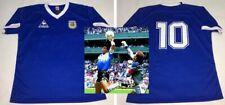 DIEGO ARMANDO MARADONA hand signed autographed Argentina 1986 Away Jersey PROOF