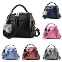 Women Leather Satchel Handbag Shoulder Tote Purse Messenger Hobo Bag Cross Body