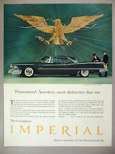 Chrysler Imperial PRINT AD - 1958
