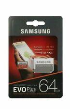 Tarjeta Micro SD Samsung 64GB Evo Plus de clase - 10-U3 Tarjeta de memoria con Adaptador