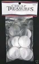 DIRECT FIT COIN CAPSULES AIRTITE NEW 10 PACK SILVER EAGLE 40.6MM 2014