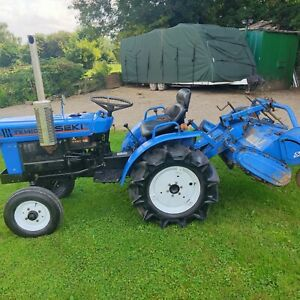 Iseki TX1410 14 HP 2WD Compact Tractor with Rotavator