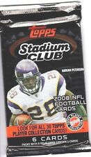 1-2008 TOPPS STADIUM CLUB NFL BEAM TEAM AUTOGRAPH HOT PACK 100% GUARANTEED