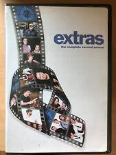 Ricky Gervais EXTRAS SEASON 2 ~ BBC HBO British Comedy Series Region 1 US DVD
