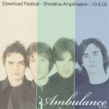 Ambulance Ltd - Download Festival Shoreline Ampitheatre 10.8.05 CD NEU OVP