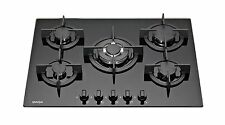 SAGA Elegans X751-B 70cm Built-in 5 Burner Gas Hob/Cooktop with Tempered Glass