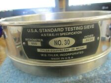 New listing W.S. Tyler No: 30 Testing Sieve. 600 Micrometer, .0234 Inches, 28 Mesh <