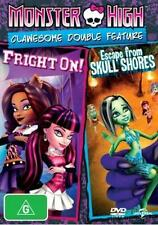 Monster High: Escape From Skull Shores / Fright On! : NEW DVD